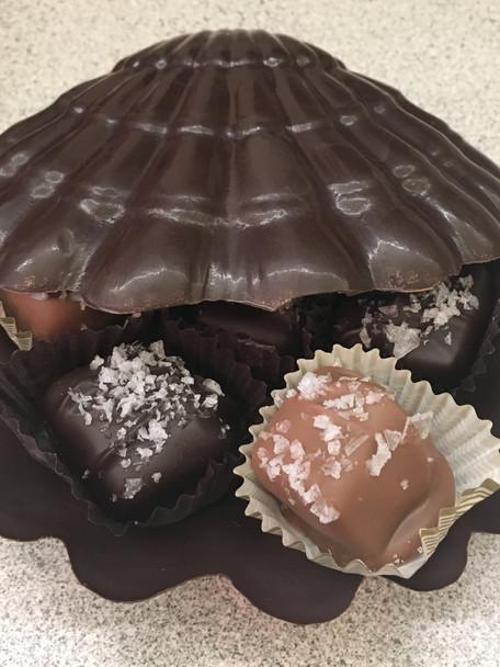 Chocolate shell