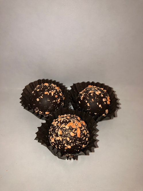 Mini Dark Orange Truffle