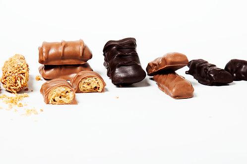 Peanut Butter Bolsters
