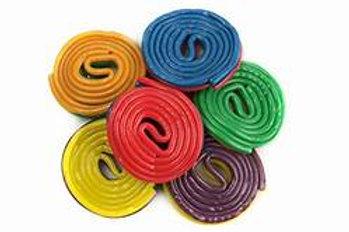 Rainbow Licorice Pinwheels