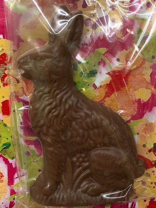 2 dimensional sitting rabbit