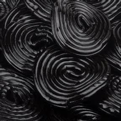Black Licorice Pinwheels