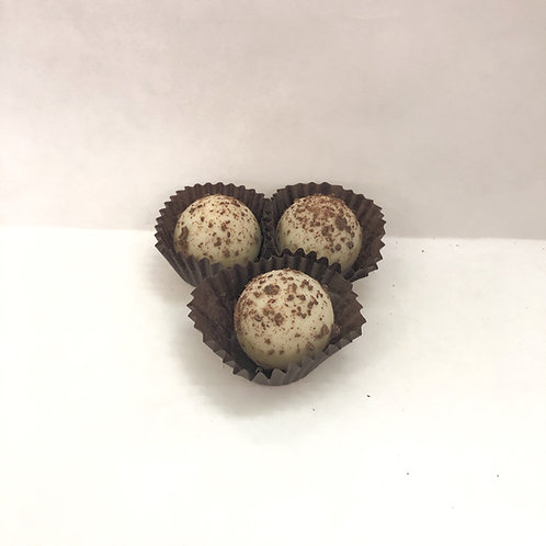 Mini White Chocolate Truffles