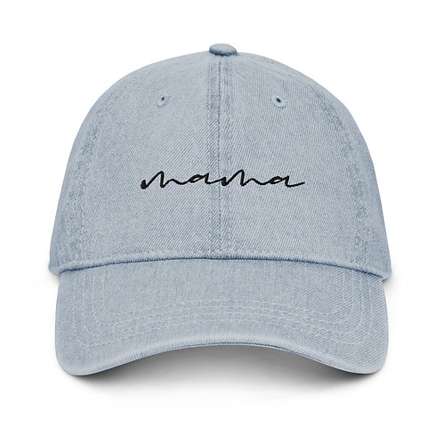 Mama Denim Hat