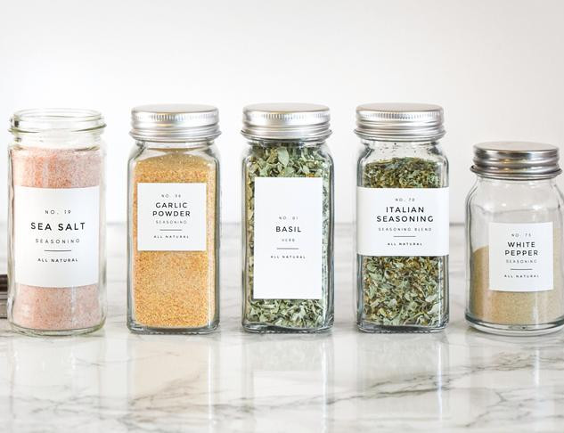 MODERN SPICE LABELS FROM ETSY