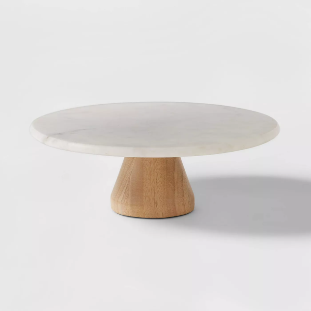 MARBLE CAKE STAND FROM TARGET