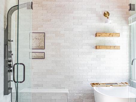 Master Bathroom Remodel Design Before + After Photos