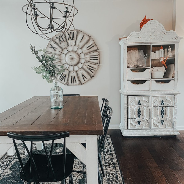 BLACK METAL DINING CHAIRS FROM TARGET