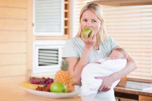 Харчування під час годування грудьми