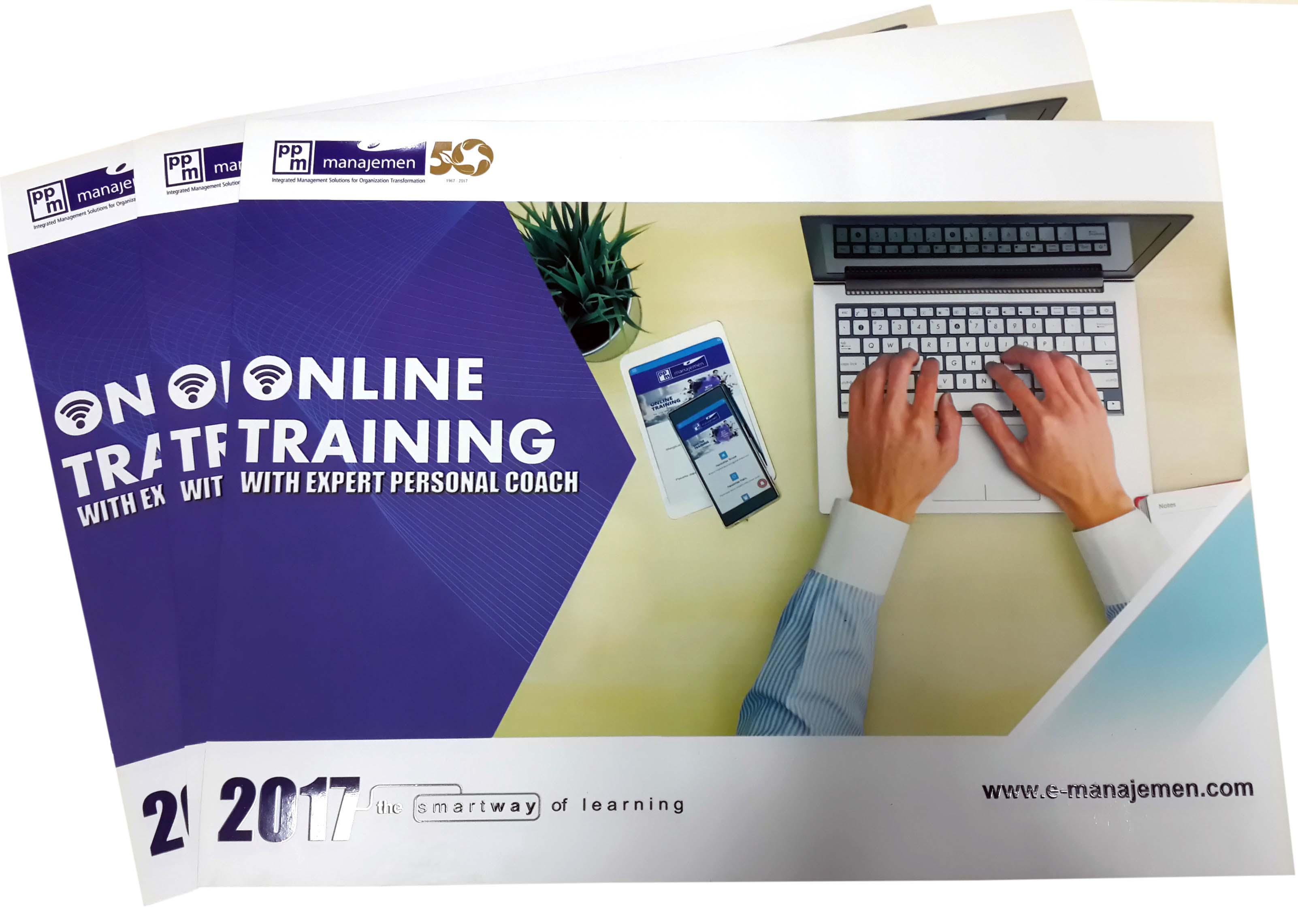 Brosur pendidikan pelatihan