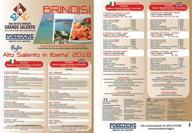 Visita il Salento e La Valle D'Itria con noi