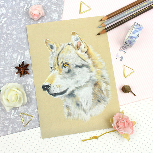Wolf Print - Limited Edition