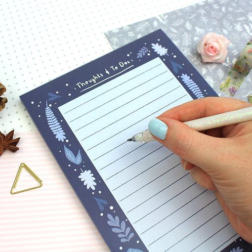 Midnight Fox Notepad