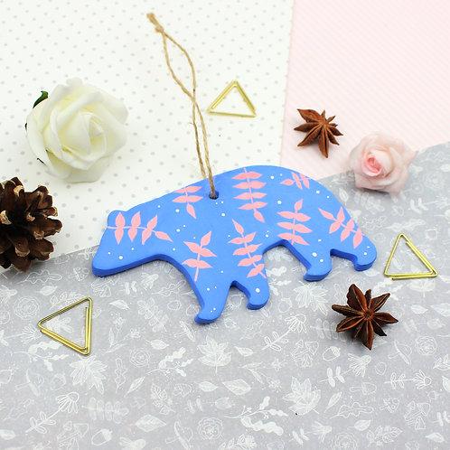 Handmade Clay Bear - Leto