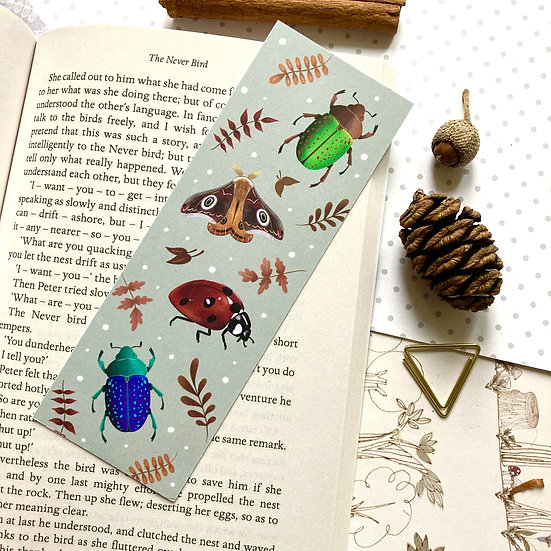 Pretty Crawlies Bookmark