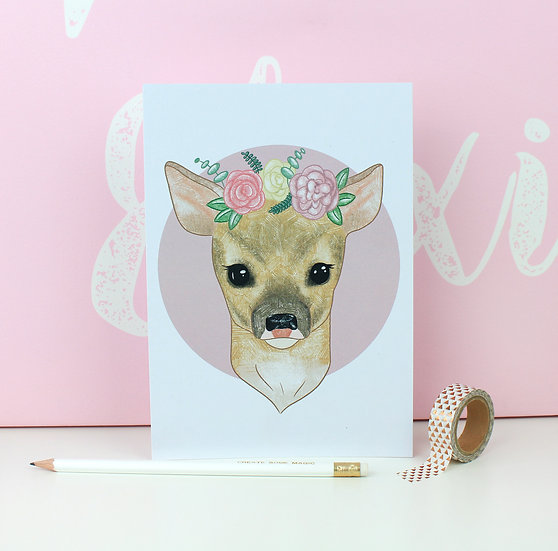 Pretty Deer Print