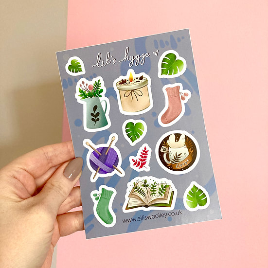 Hygge Sticker Sheet