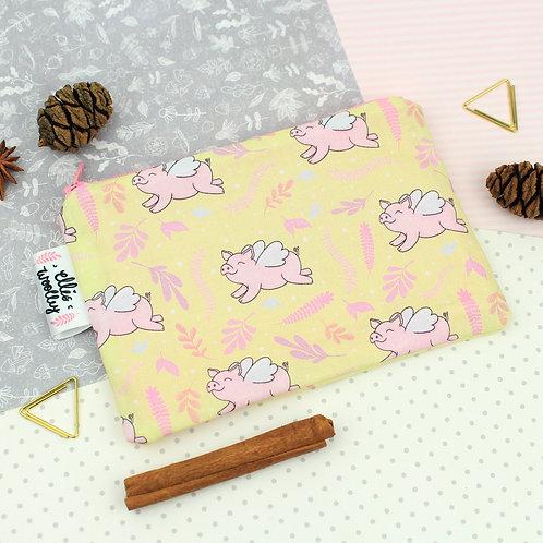 Mini Handmade Pouch - Mr Pig Design