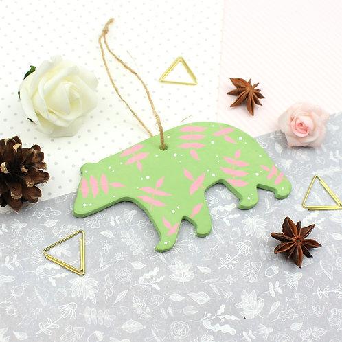 Handmade Clay Bear - Eden