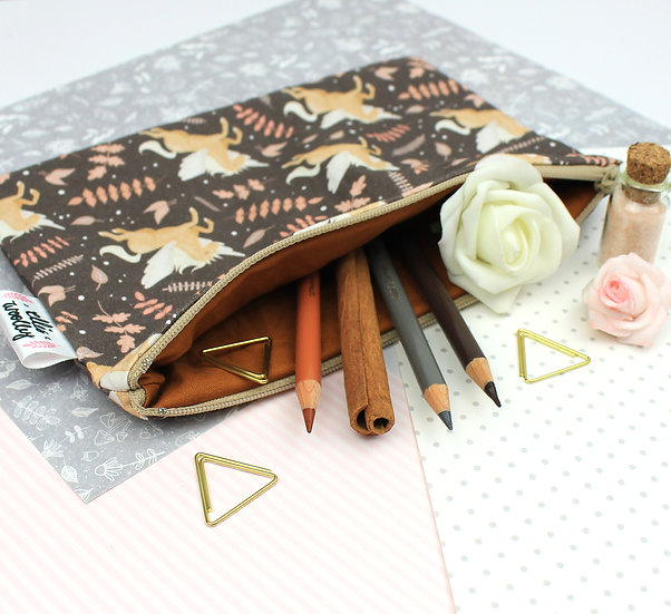 Handmade Pouch - Pegasus Design