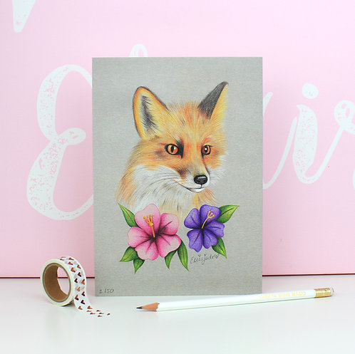 Fox Print - Limited Edition