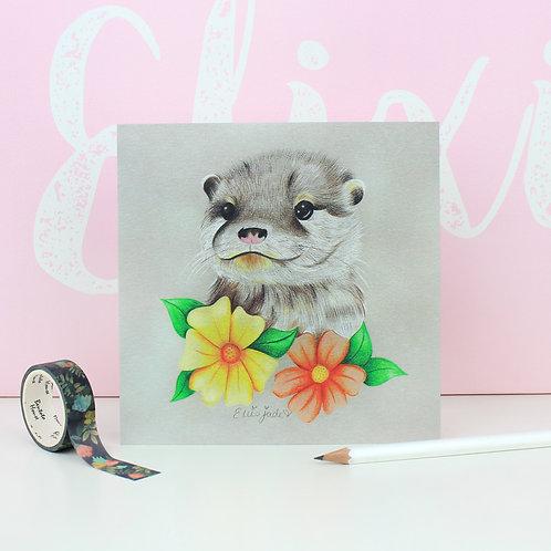 Otter Print