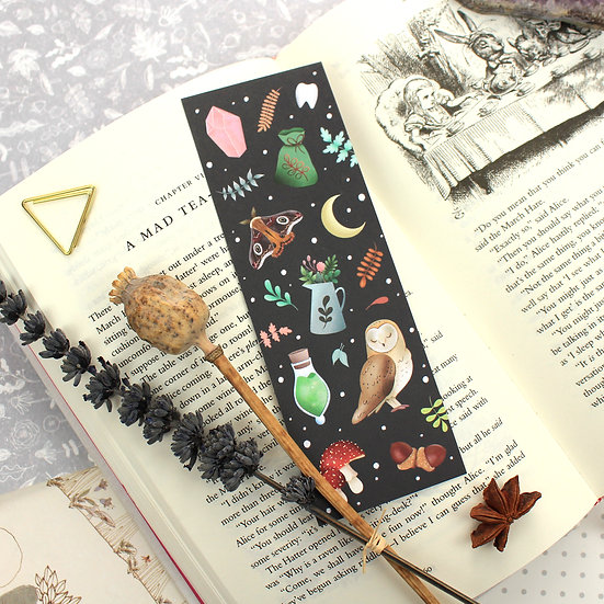 Witchy Bookmark