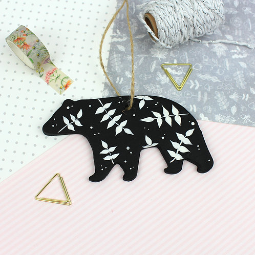 Handmade Clay Bear - Arwen