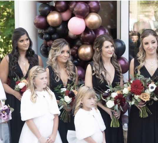 Jessica Mohns Wedding Party