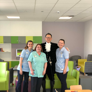 High Sheriff with Theatre and Ward teams
