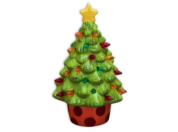 "9"" Lighted Christmas Tree - Carolina Pizza Co"