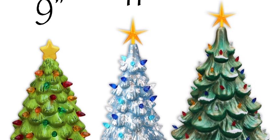 Alaina's Ceramic Christmas Tree 🎄 Paint Party