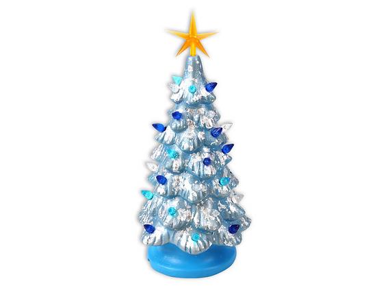 "11"" Lighted Christmas Tree"