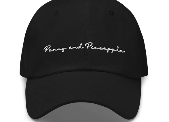 Penny and Pineapple Dad Hat