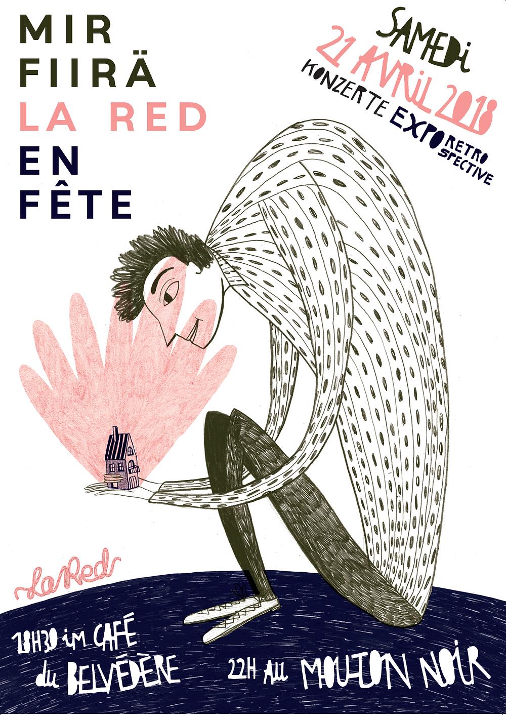 fête La Red Le Belvédaire Mouton noir