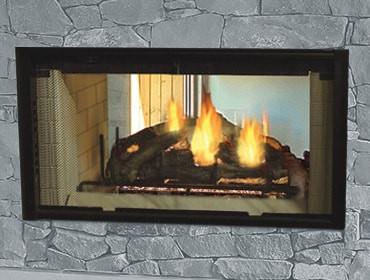 Majestic Designer Wood Fireplace