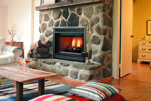 Majestic Soverign Wood Fireplace