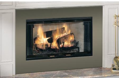 "Majestic Royalton 42"" Wood-Burning Fireplace"