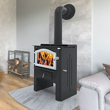 Kuma Aberdeen LE wood stove, made in the