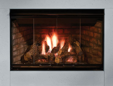"Majestic Reveal 36"" Gas Fireplace"