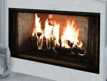 "Majestic Royalton 36"" Wood-Burning Fireplace"