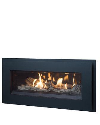 Esprit linear gas fireplace