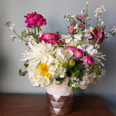 My $20 Trader Joes Flower Challenge