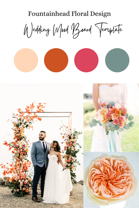 Free Wedding Mood Board Template