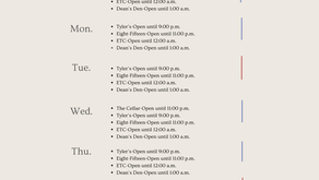Available Dining Options for Students