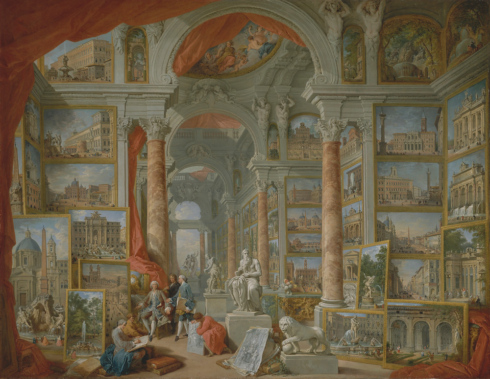 Giovanni Paolo Panini Modern Rome, Imogen Robertson, Westerman and Crowther