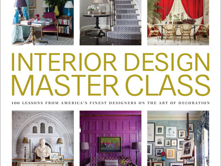 Interior Design Master Class Showcases 100 of the Finest Designers in America