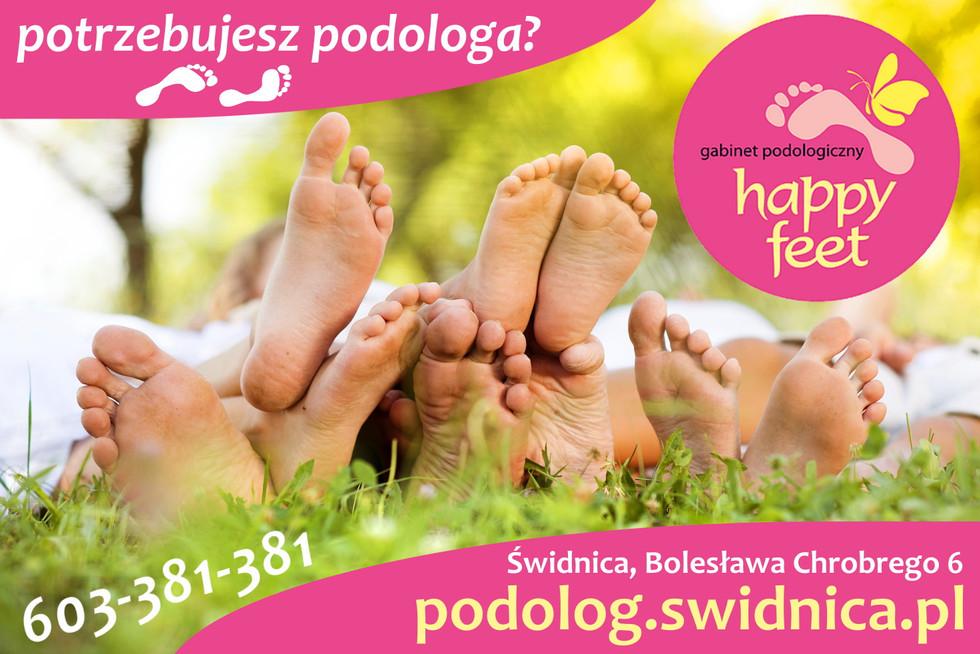 """Gabinet Podologiczny """"Happy Feet"""""""
