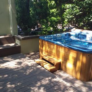 ALMA VITA sauna garden jacuzzi
