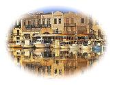 Venetian Harbour Rethymno Crete